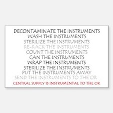 Instruments Rectangle Decal