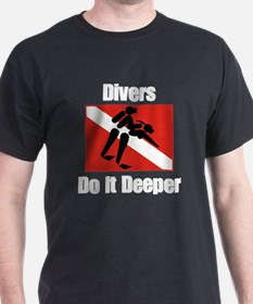 Divers Do It T-Shirt