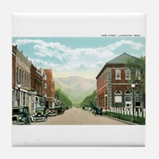 Livingston Montana MT Tile Coaster