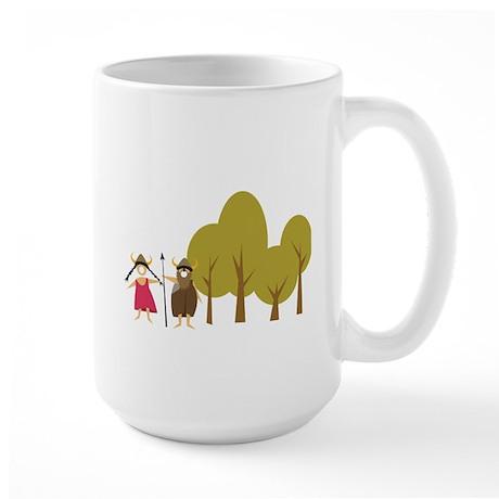 Hildegarde + Hilmar Large Mug