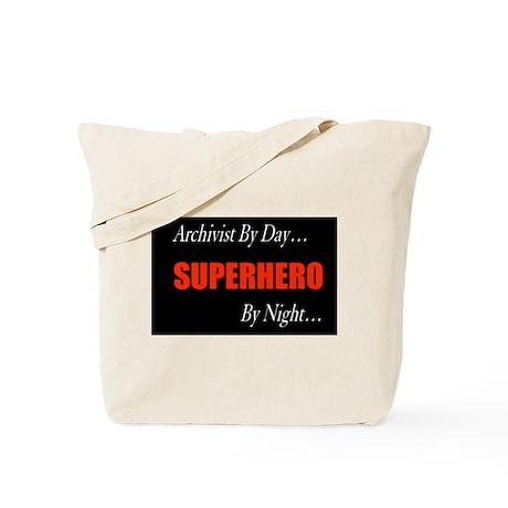 Superhero Archivist Tote Bag