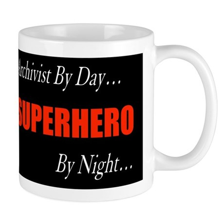 Superhero Archivist Mug