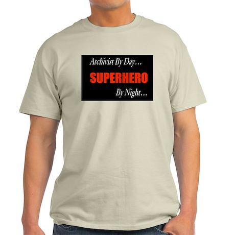 Superhero Archivist Light T-Shirt