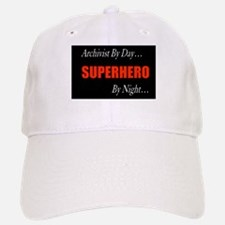 Superhero Archivist Baseball Baseball Cap