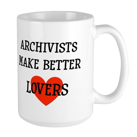 Archivist Gift Large Mug