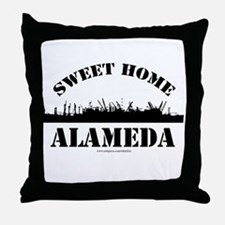 Sweet Home Alameda Throw Pillow