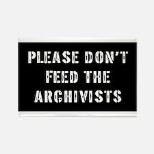 archivist Gift Rectangle Magnet
