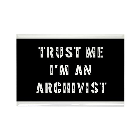 Archivist Gift Rectangle Magnet (10 pack)