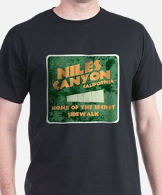 Niles Canyon CA T-Shirt