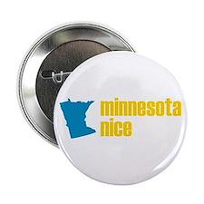 "Minnesota Nice 2.25"" Button"