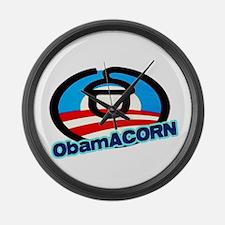 ObamACORN Large Wall Clock