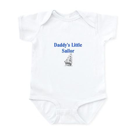 daddys little sailor Body Suit