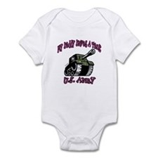 Cute Army brat mom Infant Bodysuit