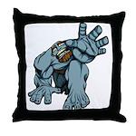 Help Me Brute Throw Pillow
