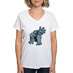 Help Me Brute Women's V-Neck T-Shirt