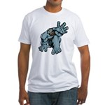 Help Me Brute Fitted T-Shirt
