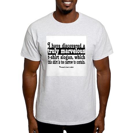 Fermat's Last Light T-Shirt
