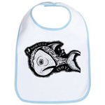 Jesse's Tree Fish Bib