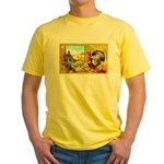 Thanksgiving Americana Yellow T-Shirt