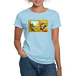 Thanksgiving Americana Women's Light T-Shirt