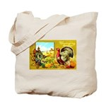 Thanksgiving Americana Tote Bag