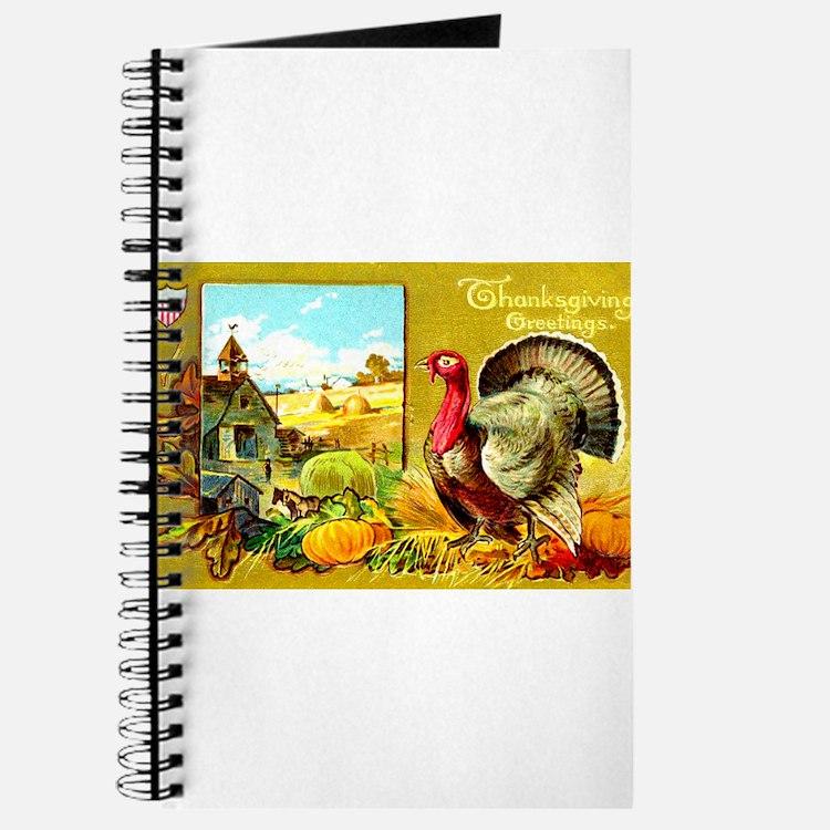 Thanksgiving Americana Journal