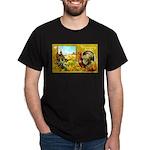 Thanksgiving Americana Dark T-Shirt