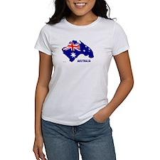 Australia Shape Flag Tee