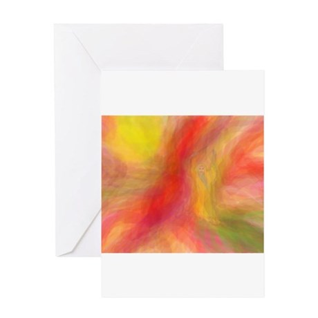 Fire Wizard Greeting Card