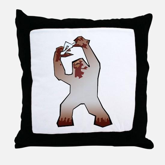 Shambler Throw Pillow