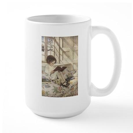 Read a Book Large Mug