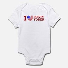 I Love Kevin Yoder Infant Bodysuit
