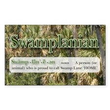 Swamp Lane Rectangle Decal