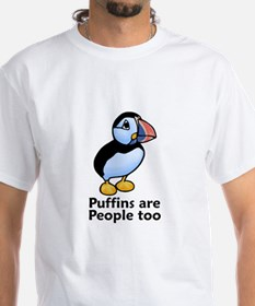 Puffins are People too Shirt