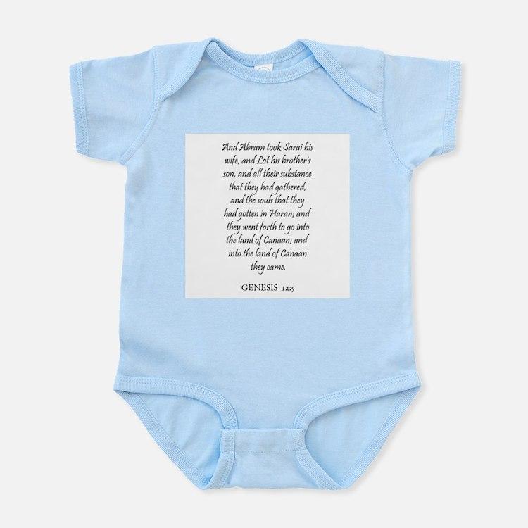 GENESIS  12:5 Infant Creeper