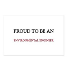 Proud To Be A ENVIRONMENTAL ENGINEER Postcards (Pa