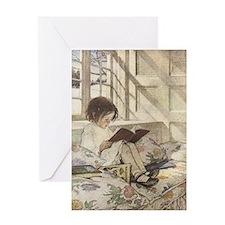 Read a Book Greeting Card