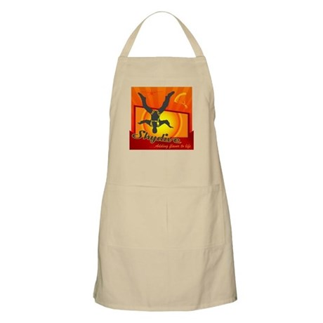 Skydiving BBQ Apron
