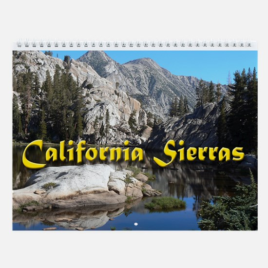 California Sierras Wall Calendar
