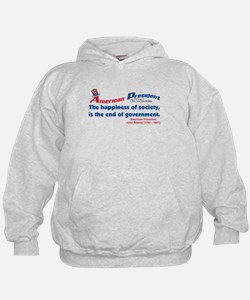 The end of government Hoodie