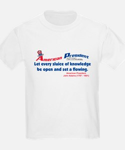 Knowledge set a-flowing T-Shirt