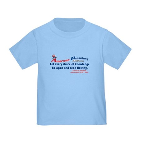 Knowledge set a-flowing Toddler T-Shirt