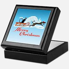Christmas Pet Parade Keepsake Box