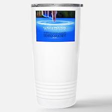 Inspirational Quote on a Travel Mug