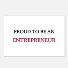Proud To Be A ENTREPRENEUR Postcards (Package of 8