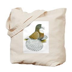 English Trumpeter Dilute Indi Tote Bag