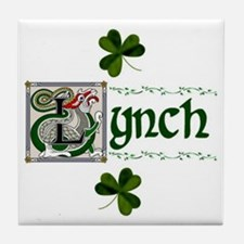 Lynch Celtic Dragon Ceramic Tile