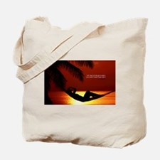Inspirational Quotes on a Tote Bag