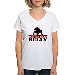 American Bully Women's V-Neck T-Shirt