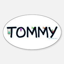 Tommy (Boy) Oval Decal